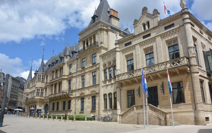 Luxemburg City- Großherzoglicher Palast