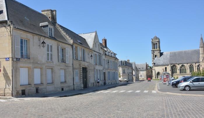 Radtour Frankreich Reims - Mont-Saint-Michel: Soisson