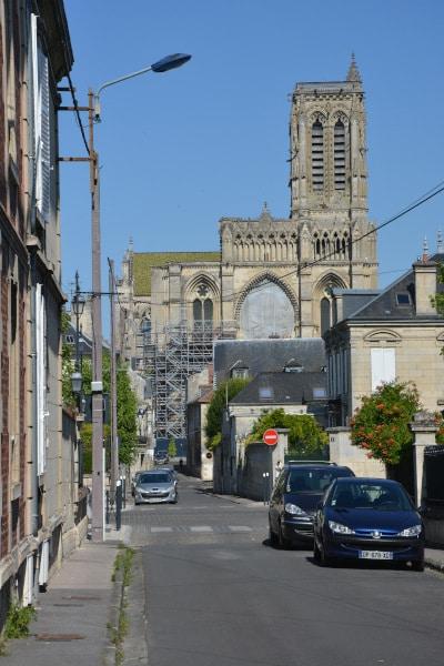 Radtour Frankreich: Kathedrale Soissons