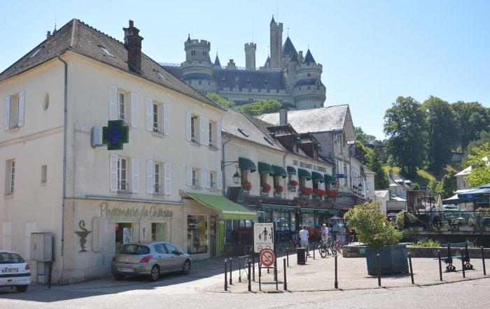 Radtour Frankreich Reims - Mont-Saint-Michel: Pierrefonds