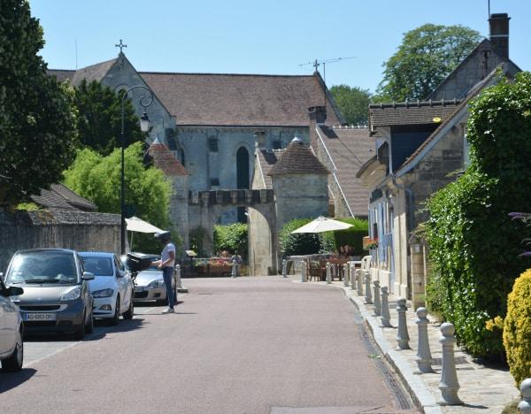 Radtour Frankreich Reims - Mont-Saint-Michel: Saint Jean aux Bois