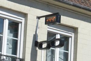 Radtour Frankreich Reims - Mont-Saint-Michel: 44 Grad