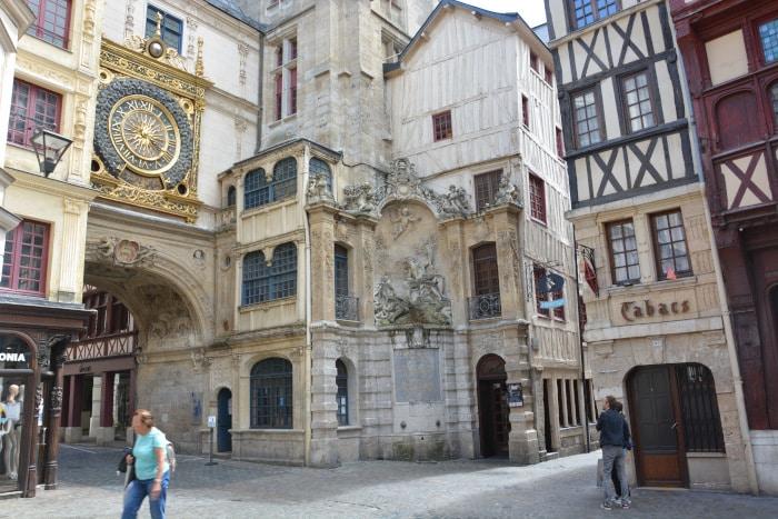 Radtour Frankreich Reims - Mont-Saint-Michel: Rouen
