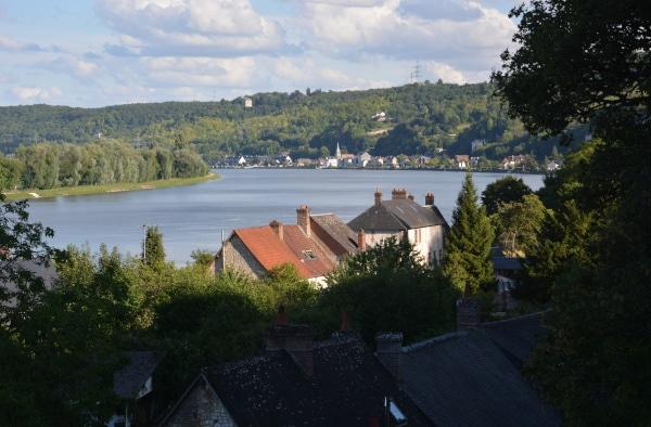 Radtour Frankreich Reims - Mont-Saint-Michel: westliches Seine-Ufer