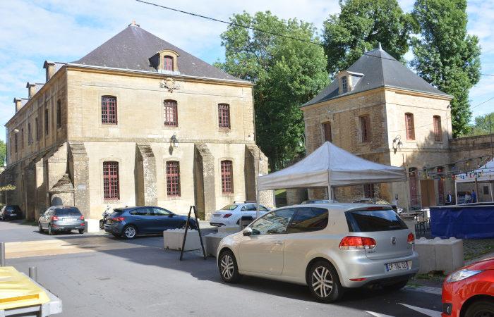 Longwy Festungs - Gebäude Frankreich
