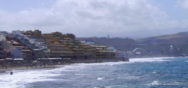 Las Palmas Gran Canaria - Hotel am Playa de las Canteras