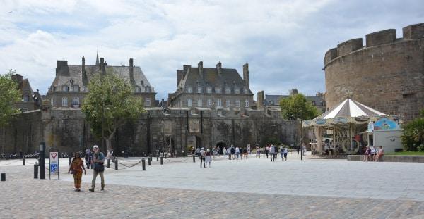 Stadtmauer Saint Malo, Frankreich - Bretagne