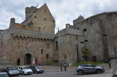 hote de ville (Rathaus) Saint Malo, Frankreich - Bretagne