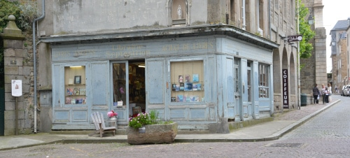 alter Buchladen Saint Malo, Frankreich - Bretagne