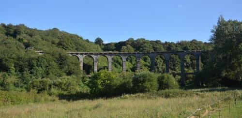 ehem. Eisenbahn - Viadukt St. Brieuc, Bretagne