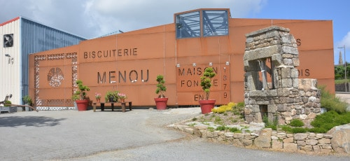 Bisquiterie - Museum Plogonver, Frankreich, Bretagne