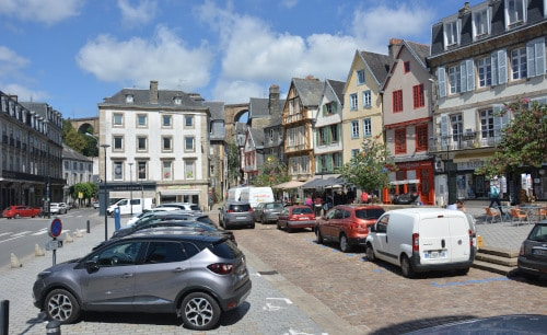 Morlaix, Frankreich, Bretagne