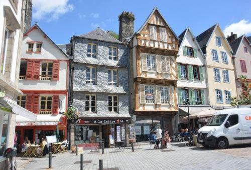 Café's in Morlaix - Frankreich, Bretagne