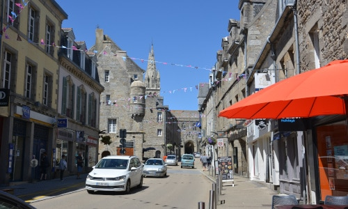 Saint Pol de Leon, Bretagne, Frankreich