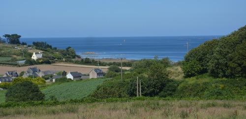 Küstenlandschaft bei Roscoff, Bretagne - Frankreich