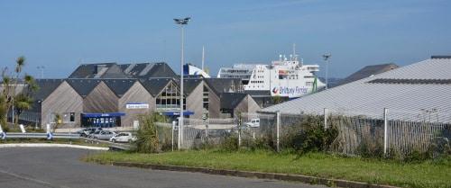 Fährhafen Roscoff, Bretagne - Frankreich