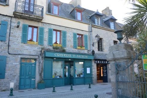 Creperie Roscoff - Bretagne, Frankreich