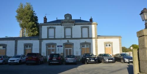 Bahnhof Roscoff, Bretagne - Frankreich