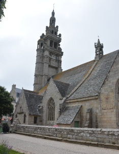 Notre Dame de Croaz Batz Kirche Roscoff, Bretagne - Frankreich