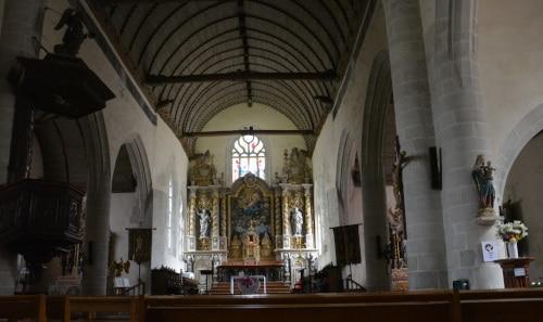 in der Kirche Notre Dame de Croaz Batz in Roscoff, Bretagne - France