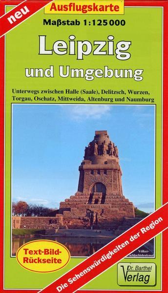 Ausflugskarte Leipzig