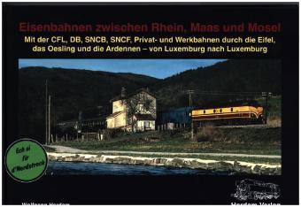 Buch Eisenbahnen Rhein, Maas und Mosel - Bildband