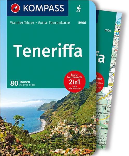 Wanderkarte Teneriffa Wanderführer mit 80 Touren und gpx-tracks zum download