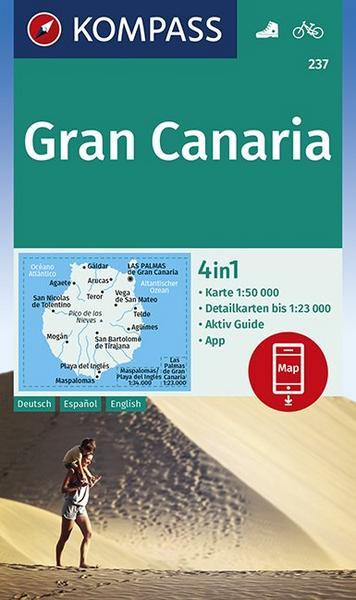 Wanderkarte Gran Canaria
