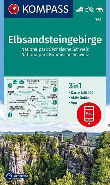 Wanderkarte Sächs. Schweiz