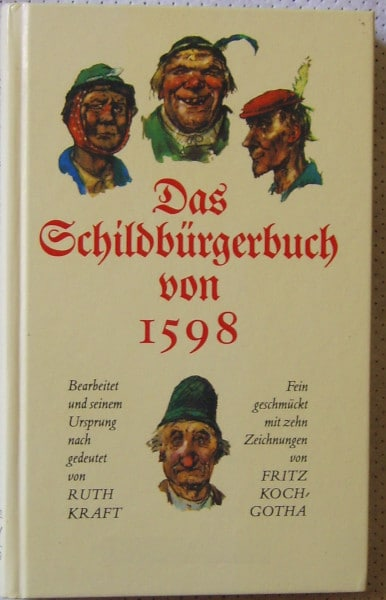 Schildbürger- Buch von Ruth Kraft