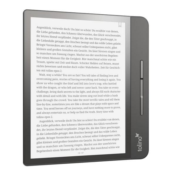 eReader tolino epos für eBooks auf Reisen
