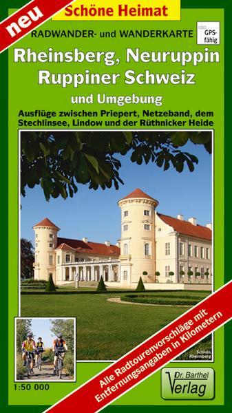 Wanderkarte Rheinsberg Ruppin Stechlinsee