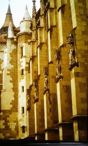 Südost - Europa-Tour Sommer 89: Schwarze Kirche Kronstadt / Brasov - Siebenbürgen, Rumänien