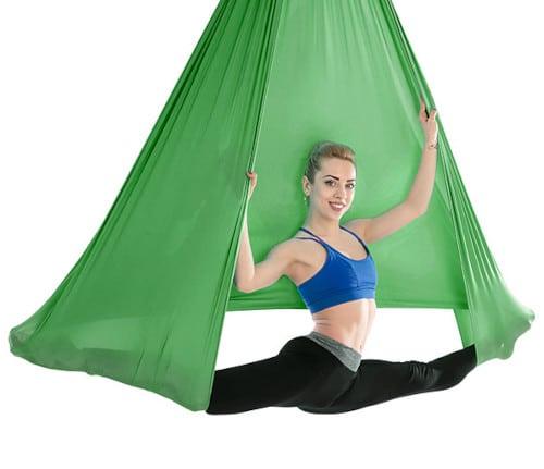 Luft yoga Tuch , aerial yoga hängematte swing yoga antigravitation