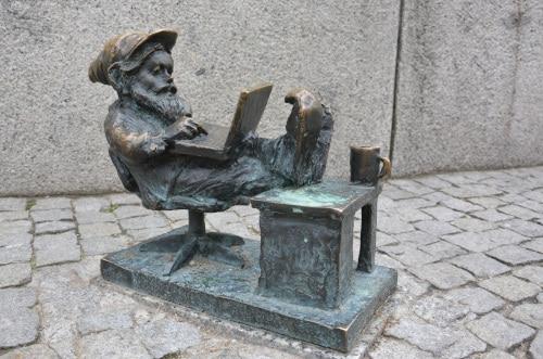 Wroclaw blogger dwarf
