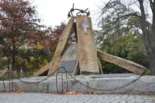 Wroclaw Denkmal für Opfer des Stalinismus in Polen