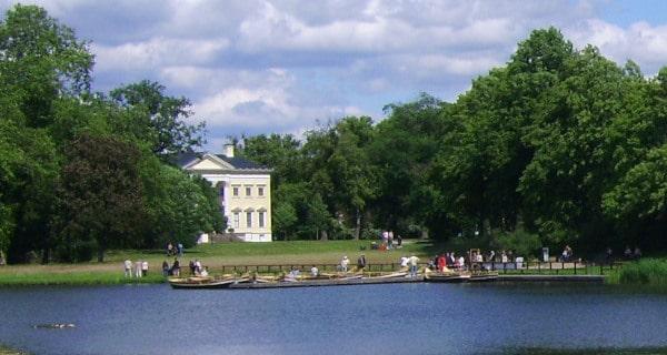 Gondelstation im Wörlitzer Park