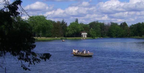 Wörlitzer Park - Gondelfahrt auf dem Wörlitzer See