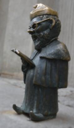 An der Universität: Professor Zwerg in Breslau / Wroclaw