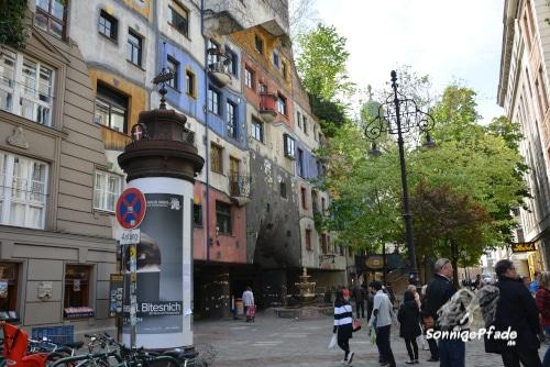 Friedensreich Hundertwasser house Vienna  Kegelgasse