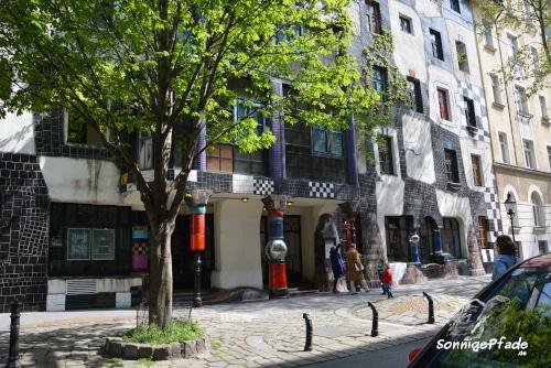 Kunsthaus Wien Museum of Friedensreich Hundertwasser - painting and art