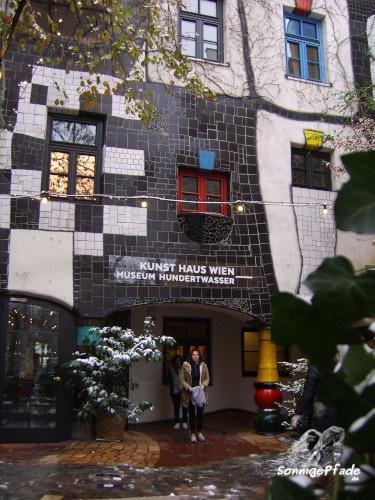 Entrance area of Kunsthaus Vienna Museum Friedensreich Hundertwasser
