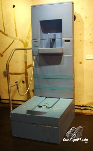 Hundertwasser Trenntoiletten - Modell