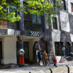 Eingang zum Kunsthaus Wien Museum Friedensreich Hundertwasser
