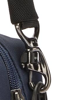 Diebstahlsicherer Karabiner - Verschluß mit Dreh-Lock - Sicherung